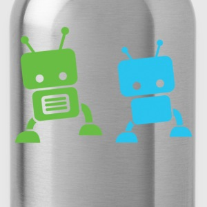 2 baby robots Toddler Shirts - Water Bottle