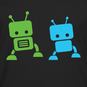 2 baby robots Toddler Shirts - Men's Premium Long Sleeve T-Shirt