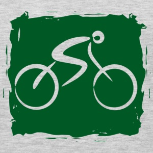 Bicycle dark green - Men's Premium Long Sleeve T-Shirt