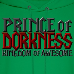 Prince of Dorkness - Kingdom of Awesome T-Shirts - Men's Hoodie