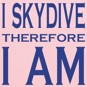 I Skydive Therefore I Am T-Shirts - Kids' Hoodie