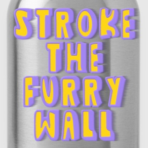 Stroke The Furry Wall T-Shirts - Water Bottle