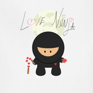 Love Ninja - Adjustable Apron