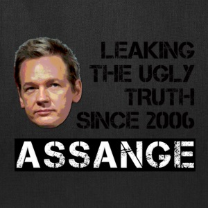 Assange Ugly Truth Wikileaks T-Shirts - Tote Bag