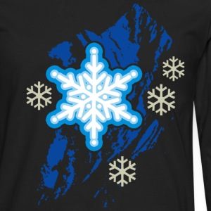 snowflakes - Men's Premium Long Sleeve T-Shirt