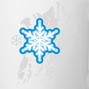 snowflakes - Coffee/Tea Mug