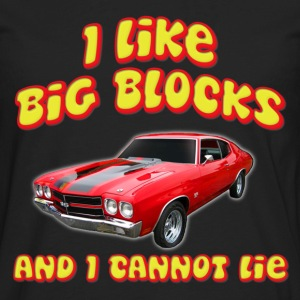 I Like Big Blocks And I Cannot Lie Chevelle T-Shirts - Men's Premium Long Sleeve T-Shirt