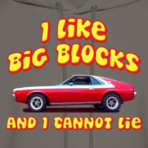 I Like Big Blocks And I Cannot Lie AMC AMX T-Shirts - Men's Hoodie
