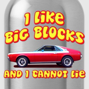 I Like Big Blocks And I Cannot Lie AMC AMX T-Shirts - Water Bottle