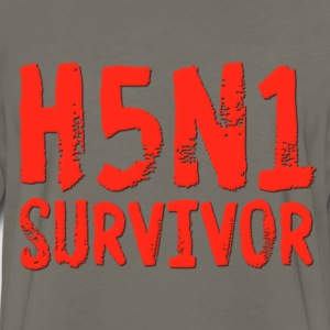 H5N1 Survivor Bird Flu T-Shirts - Men's Premium Long Sleeve T-Shirt