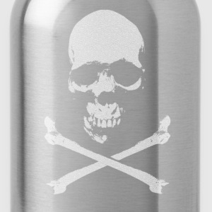Vintage Skull & Bones - Water Bottle
