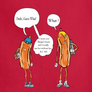 Hot Dog Teens T-Shirts - Adjustable Apron