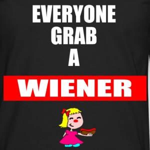 Grab a Wiener - Men's Premium Long Sleeve T-Shirt