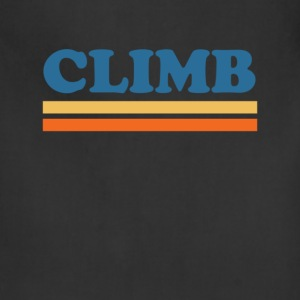 clilmb T-Shirts - Adjustable Apron
