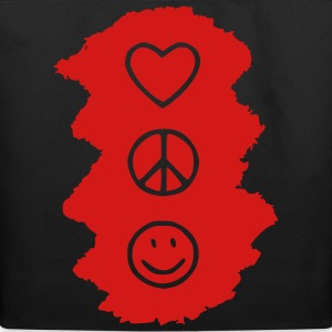love_peace_happy Toddler Shirts - Eco-Friendly Cotton Tote