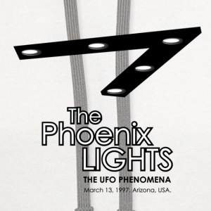 UFO The Phoenix Lights Incident - Contrast Hoodie