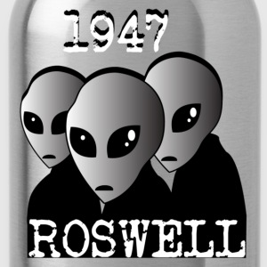 1947 ALIENS Roswell  - Water Bottle