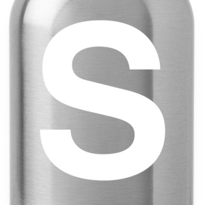helvetica S T-Shirts - Water Bottle