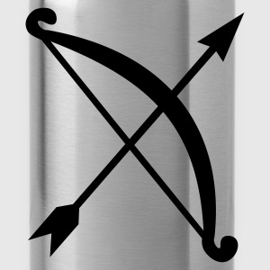 bow and arrow T-Shirts - Water Bottle