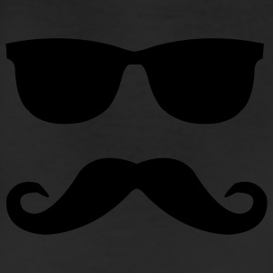 mustache and glasses T-Shirts - Leggings