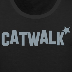 catwalk with star for model! T-Shirts - Men's Premium Tank