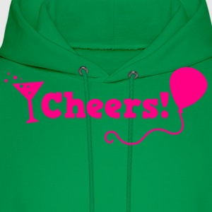 cheers with cocktail glass T-Shirts - Men's Hoodie
