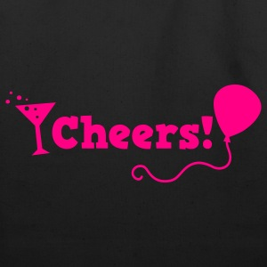 cheers with cocktail glass T-Shirts - Eco-Friendly Cotton Tote