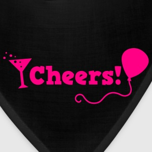 cheers with cocktail glass T-Shirts - Bandana