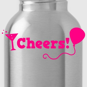 cheers with cocktail glass T-Shirts - Water Bottle