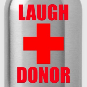 Laugh Donor T-Shirts - Water Bottle