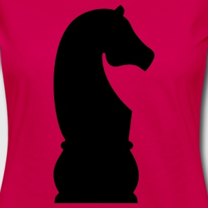 Chess Knight T-Shirts - Women's Premium Long Sleeve T-Shirt