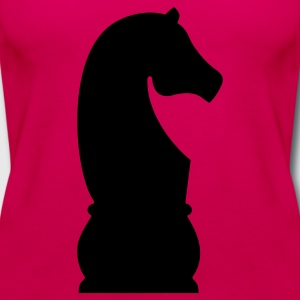 Chess Knight T-Shirts - Women's Premium Tank Top