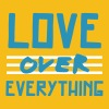 LOVE Over Everything T-Shirts - Men's Premium T-Shirt
