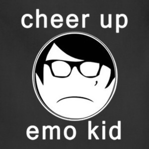 Cheer Up Emo Kid - Adjustable Apron