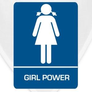 Girl power restroom T shirt - Bandana