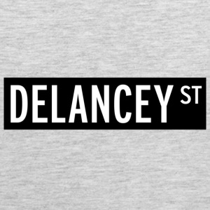 Delancey Street New York T-shirt - Men's Premium Tank