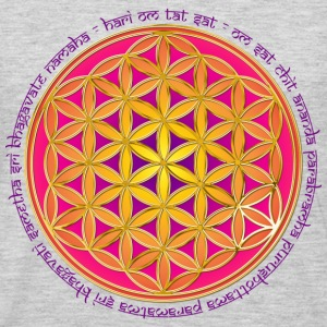 FLOWER OF LIFE - Moola Mantra | men's 3XL shirt - Men's Premium Long Sleeve T-Shirt
