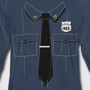 Police Officer Uniform T-shirt - Men's Premium Long Sleeve T-Shirt