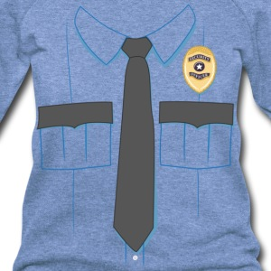 Security Guard Uniform T-shirt - Women's Wideneck Sweatshirt