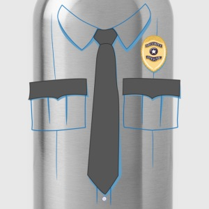 Security Guard Uniform T-shirt - Water Bottle