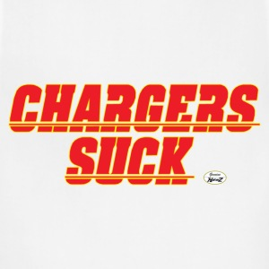charger suck kc T-Shirts - Adjustable Apron