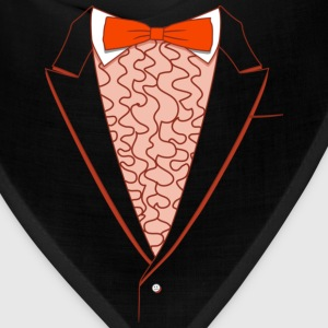 Fake Deluxe Tuxedo Orange - Bandana