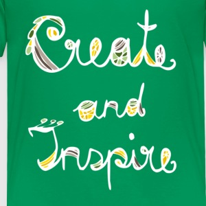 Create and Inspire - Toddler Premium T-Shirt