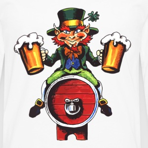 Drinking Leprechaun - Men's Premium Long Sleeve T-Shirt