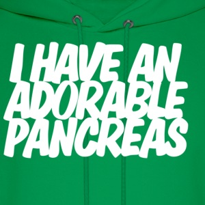 I have an adorable pancreas T-shirt - Men's Hoodie