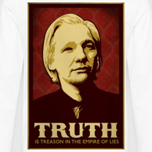 Assange Truth Is Treason  T-Shirts - Men's Premium Long Sleeve T-Shirt