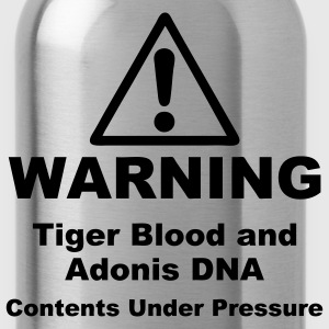 Warning! Tiger Blood and Adonis DNA Plus Size - Water Bottle