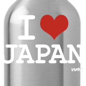 I love JAPAN T-Shirts - Water Bottle