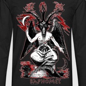 baphomet T-Shirts - Men's Premium Long Sleeve T-Shirt
