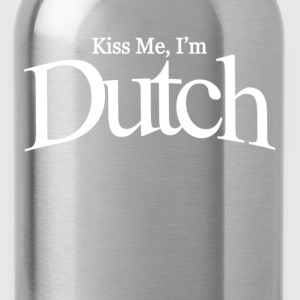 Kiss me i'm dutch - Water Bottle